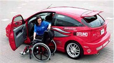 持有效机动车驾驶证,购买符合准驾车型的下肢残疾人,可以申请登记